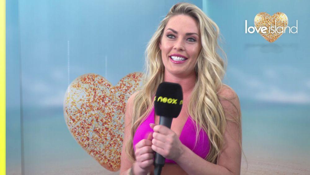 Fiona, deseosa por encontrar el amor de su vida en 'Love Island'