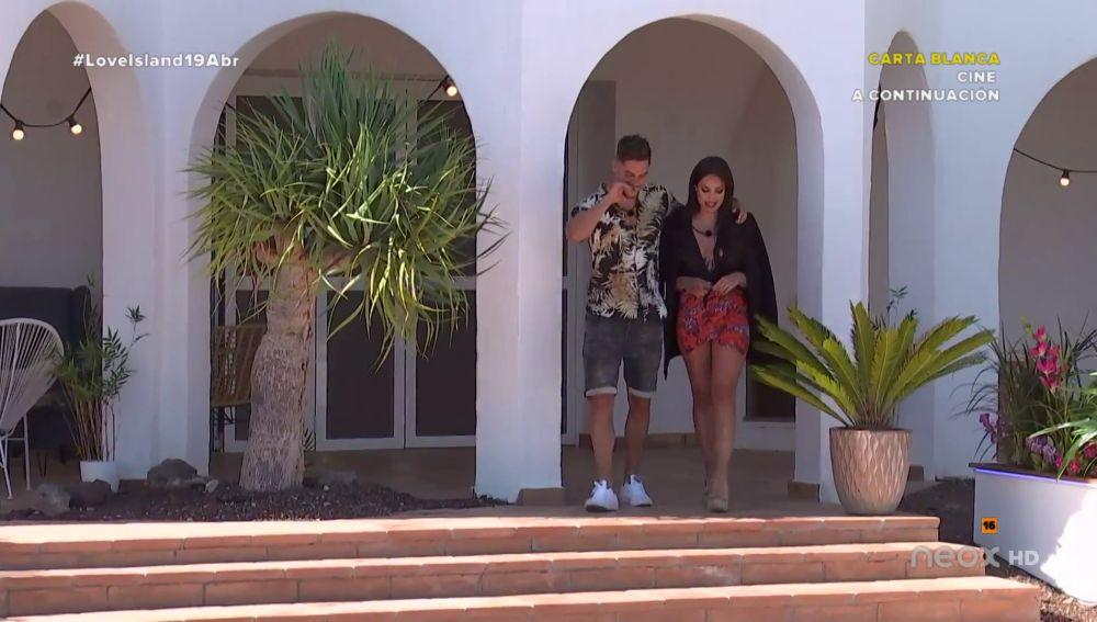 Nathalya confiesa sus primeras impresiones de Jose ante los isleños