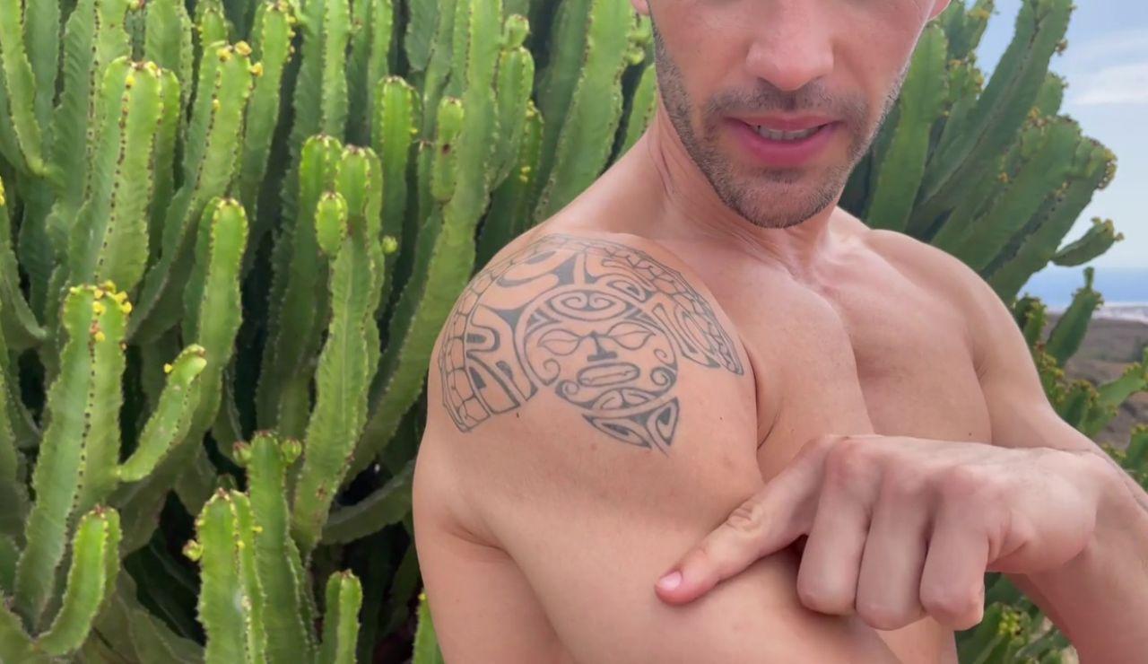 ¿Por qué Saúl se dejó este tatuaje sin terminar?