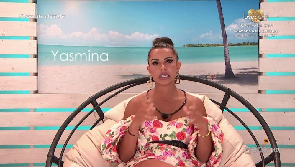 "Yasmina: ""Me siento indignada"""