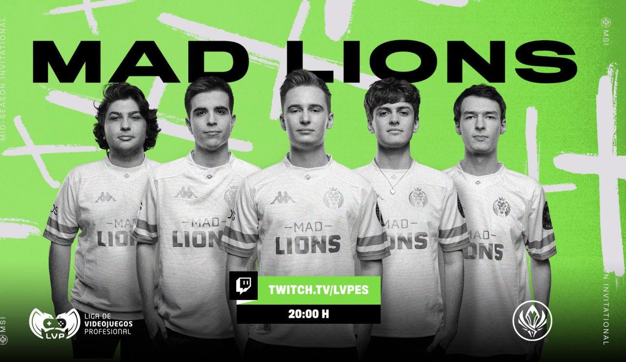 Los leones se preparan para el inicio del MSI 2021