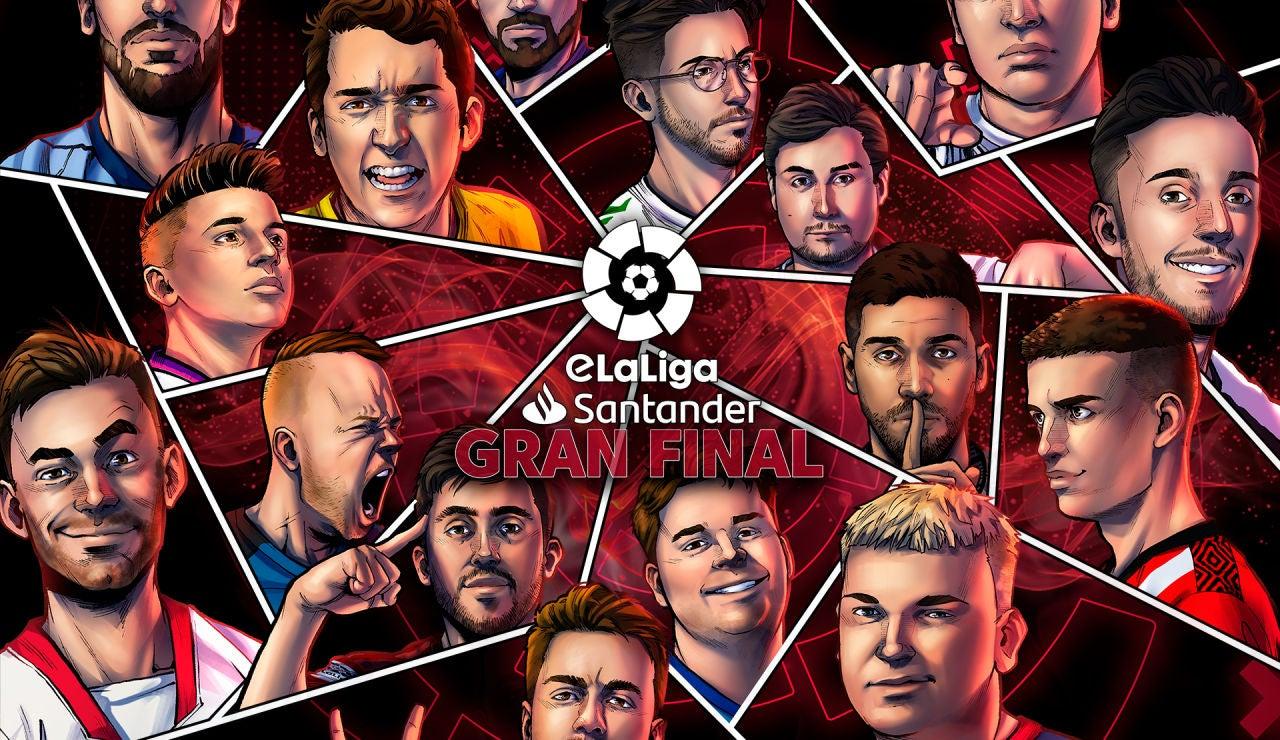 Arranca la final de la eLaLiga Santander
