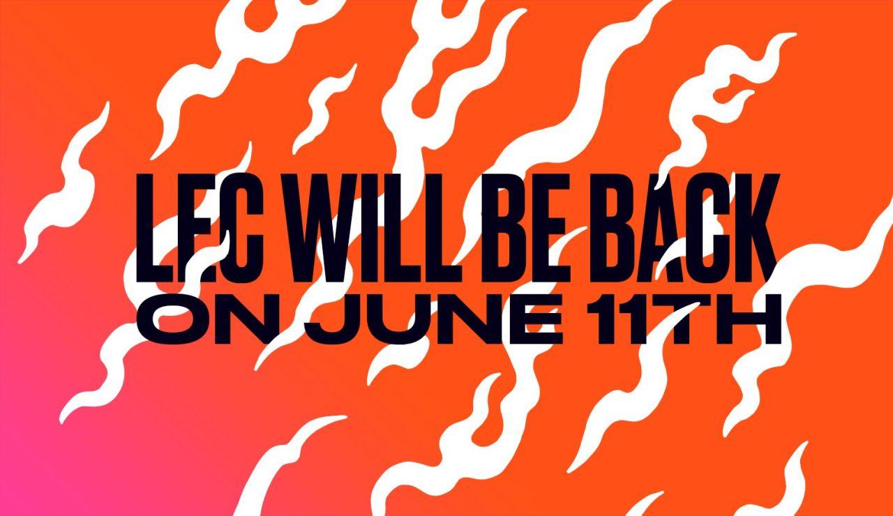 La LEC anuncia el inicio del Split de verano
