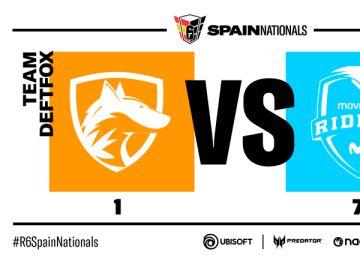 Movistar Riders se impone a los zorros en Spain Nationals