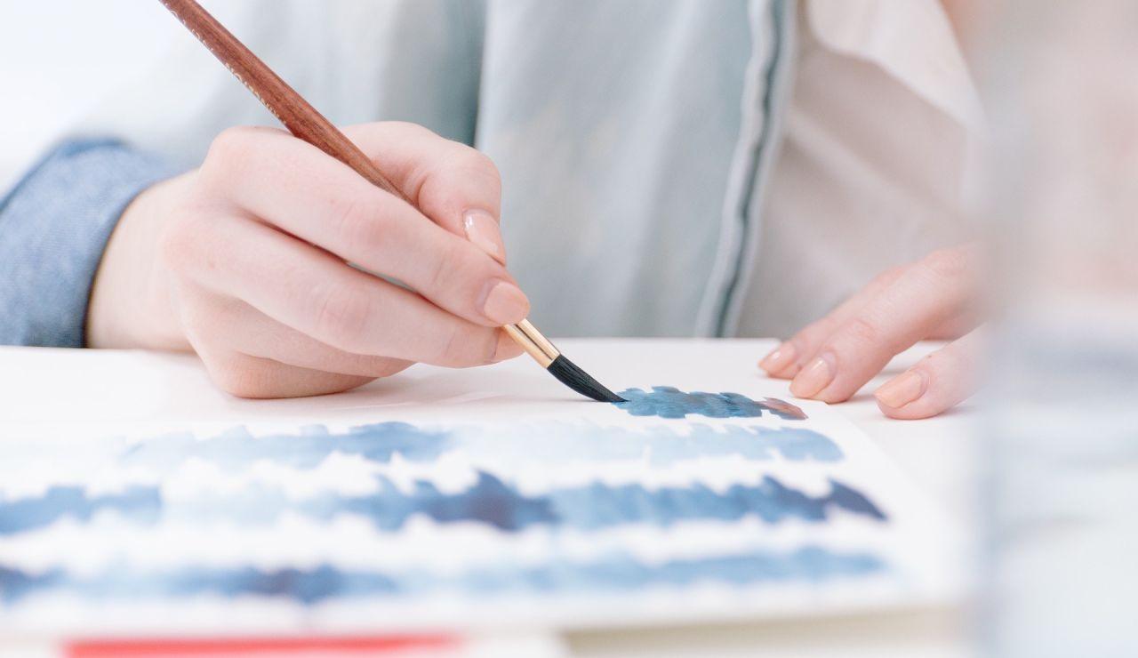 Pintar con pincel