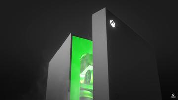 Mini nevera oficial de Xbox Series X
