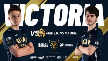 UCAM Esports se impone a los leones en la Superliga