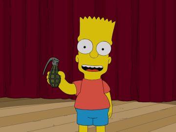 Una granada revoluciona el instituto de Springfield