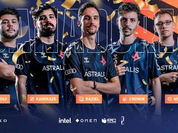 Astralis SB se corona en la Liga Nexo