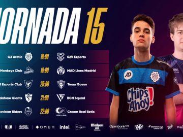 La clasificación de la Superliga pende de un hilo