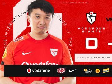 Vodafone Giants se dispara en el pie