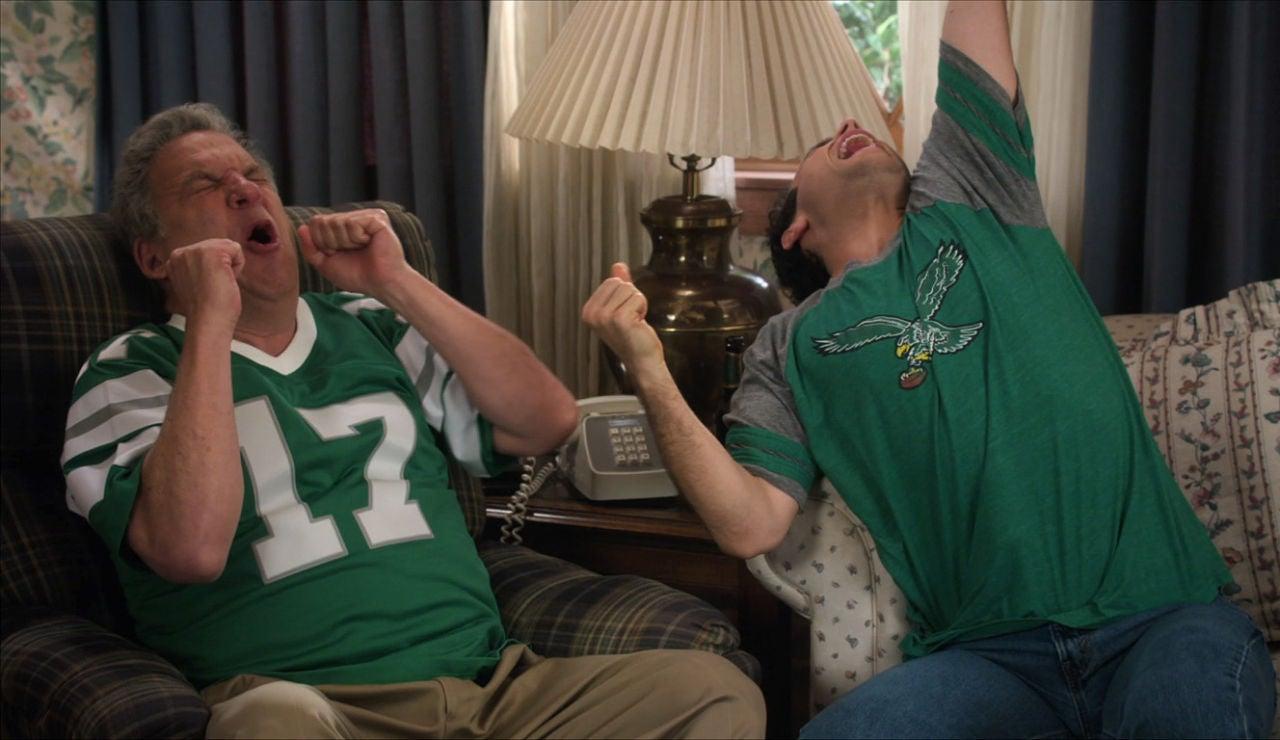 Barry y Murray, fans de los Eagles
