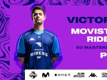 Movistar Riders cierra la primera vuelta del European Masters invicto