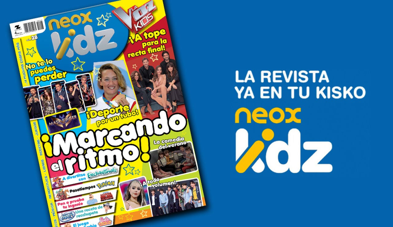 Revista Neox Kidz de septiembre
