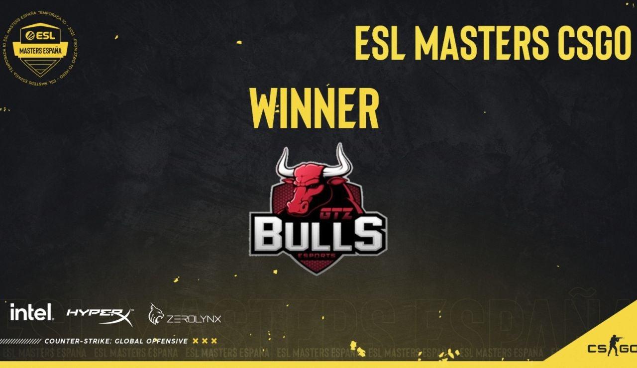 GTZ Bulls comienza dominando en la ESL Masters