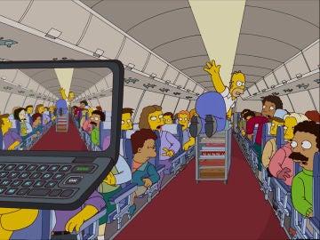 Homer se hace viral