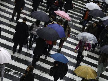 Paraguas en Japón
