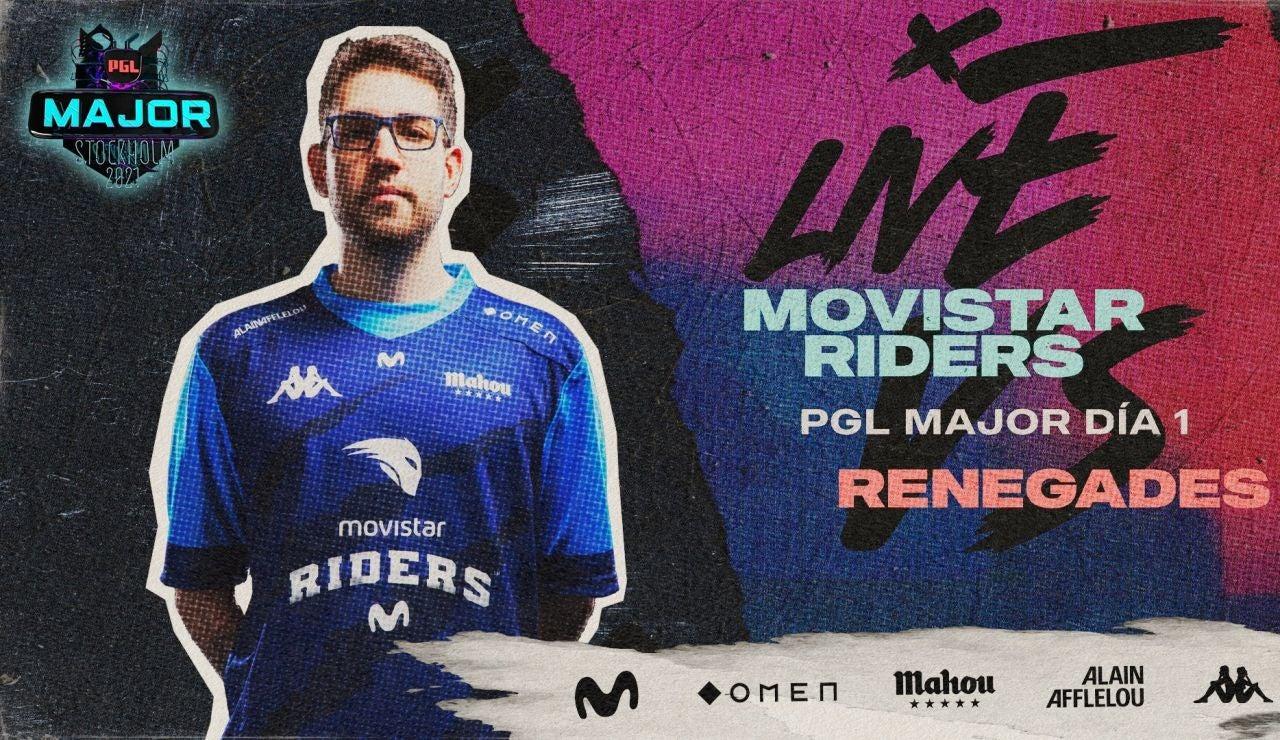 Movistar Riders se luce en el debut de la PGL Major